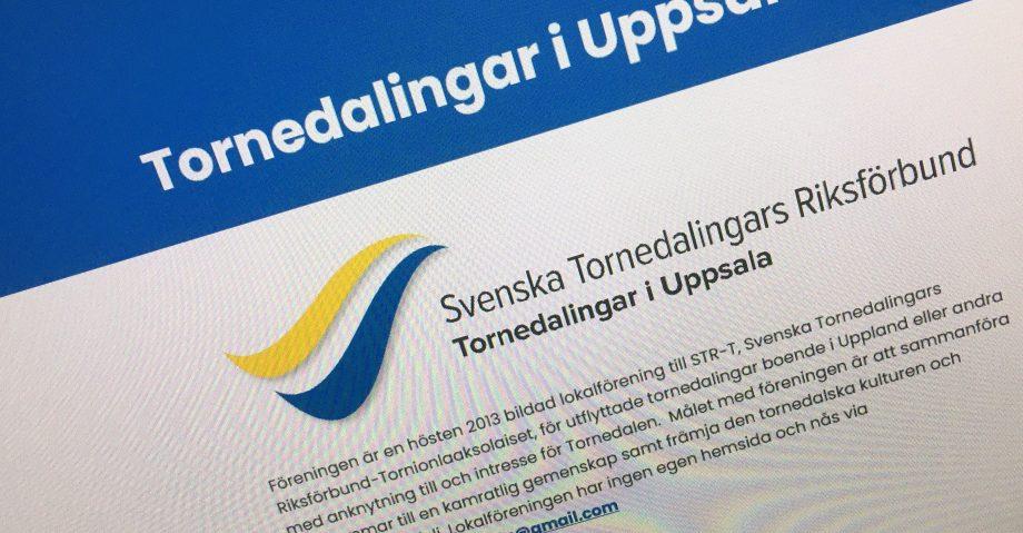 Bild på Tornedalingar i Uppsalas webbplats