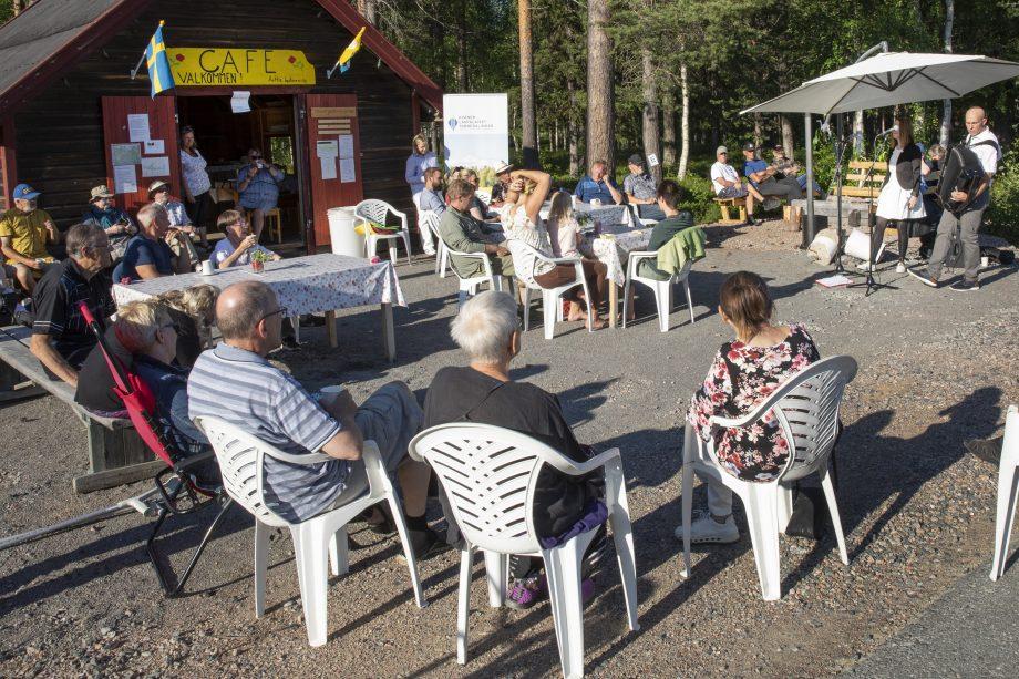 Kaffe möte i Anttis
